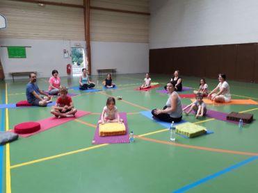 cours yoga enf:parents