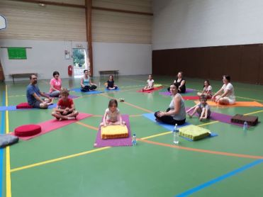 cours yoga enf:parents